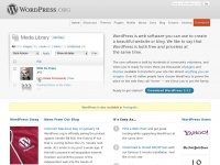 Wordpress.org - Blog Tool, Publishing Platform, and CMS — WordPress