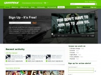 Greenpeace International Home | Greenpeace International