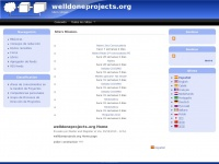 welldoneprojects.org