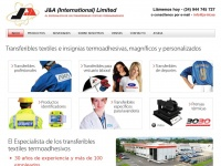 J&A (International) Ltd - Transferibles textiles e insignias termoadhesivas