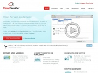 Cloudprovider.nl - Cloud Provider - Container Cloud, Docker Hosting, VPS, IaaS & PaaS provider