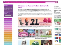Purplepuffin.co.uk - Novelty Gifts & Unique Gift Ideas For All Occasions   Purple Puffin