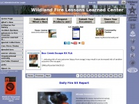 Wildfirelessons.net - Home - Wildland Fire Lessons Learned Center
