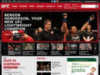 The Official Website of the Ultimate Fighting Championship® (UFC)