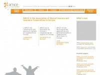 Amice-eu.org - AMICE - Association of Mutual Insurers and Insurance Cooperatives in Europe