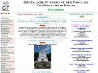 Ghfpbam.org - Genealogie Pays Basque - GHF-Pays Basque-Adour Maritime