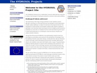 Hydrosol-project.org - HYDROSOL II Project Home
