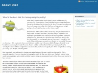 Aboutdiet.co.uk - Want your own website? | 123 Reg