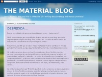 THE MATERIAL BLOG