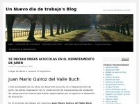 Un Nuevo dia de trabajo's Blog | Just another WordPress.com site