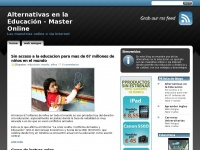 Alternativas en la Educación | Master Online