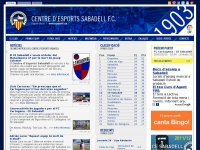 CE Sabadell FC | Sabadell - Web Oficial