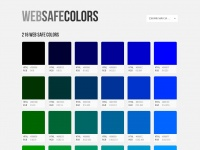 Websafecolors.info - Web Safe Colors | HTML Color Codes