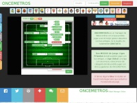 Oncemetros fútbol manager online