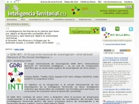 Inteligencia-territorial.eu - Home - Territorial Intelligence Portal. Knowledge, Methods, Governance and tools for action