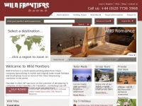 Wildfrontiers.co.uk - Wild Frontiers | Adventure Tours & Tailor Made Holidays