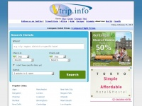Vtrip.info - Compare Hotel and Flight Prices - Best Deals Guaranteed