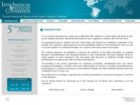 Oncologyconferences.com.ar - VIII InterAmerican Oncology Conference