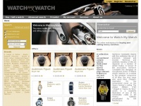 Watch-my-watch.cz - Watch my Watch - The online marketplace for selling and buying luxury watches