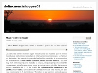 delincuenciahoppes09   Just another WordPress.com site