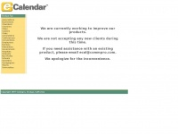E-cal.net - E-Cal Calendar Offers Hosted Online Group Software For For Your Events