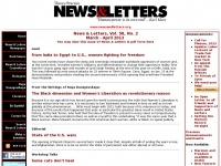Newsandletters.org - News and Letters Committees - Human Power is its own end - Karl Marx