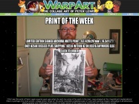 Warpart.co.nz - WarpArt - The Collage Art Of Peter Lewis