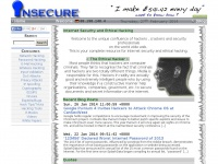 Insecure.in - Internet Security and Ethical Hacking