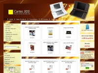 3DS Carte :: Flash cards for Nintendo DS, DSLite, DSi and 3DS :: www.carte3ds.fr