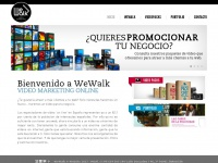 We-walk.es - WEWALK :: Video marketing