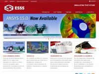 Esss.cl - ESSS - ANSYS Channel Partner for Brazil and South America