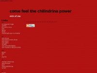 Chilipower.blogspot.nl - come feel the chilindrina power