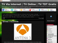 Spaintdt.blogspot.com - TV Via Internet | TV Online | TV TDT Gratis