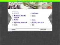 099.info: The Leading 099 Site on the Net