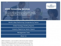 Grre.net - Growth Return Risk & Expextation - GRRE Consulting Services