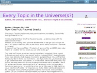 Omniverse.blogspot.nl - Every Topic in the Universe(s?)
