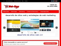 Desarrollo de sitios web y estrategias de marketing por Internet