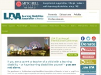 Ldanatl.org - Home | Learning Disabilities Association of America