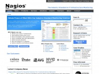 Nagios - Network, Server and Log Monitoring Software
