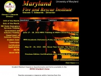 Mfri.org - Maryland Fire and Rescue Institute -- Maryland Fire and Rescue Institute