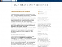 Spam financiero y económico