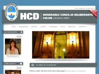 Hcdcolonba.com.ar - Sitio no disponible en este momento. Intente más tarde.