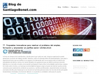 Blog de SantiagoBonet.com | Entre las TIC, el Marketing Digital y el Negocio
