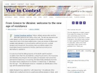 Warincontext.org - War in Context with attention to the unseen