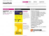 Meettok Editorial independiente de literatura en euskera y castellano