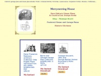 Housemouse.net - Historic House Floor Plans and Construction Designs with vintage garage plans.