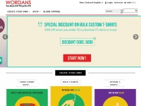 Wordans.co.nz - Wholesale t-shirts, blank apparel and accessories | Wordans New Zealand