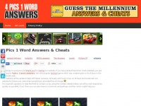 Whatsthewordanswers.org - Whats The Word Answers | 4 Pics 1 Word Answers