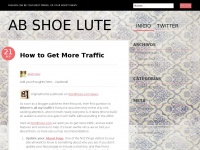 Abshoelute.wordpress.com - ab SHOE lute | Fashion can be your best friend, or your worst enemy.