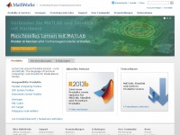 MATLAB and Simulink for Technical Computing - MathWorks Deutschland
